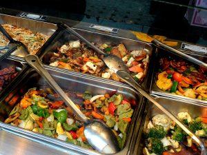 comida china buffet