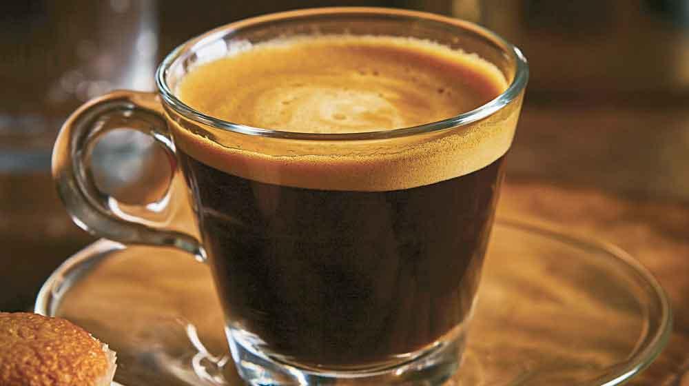 Taza de café expresso
