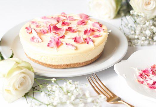 Un Cheesecake_pétalos 2