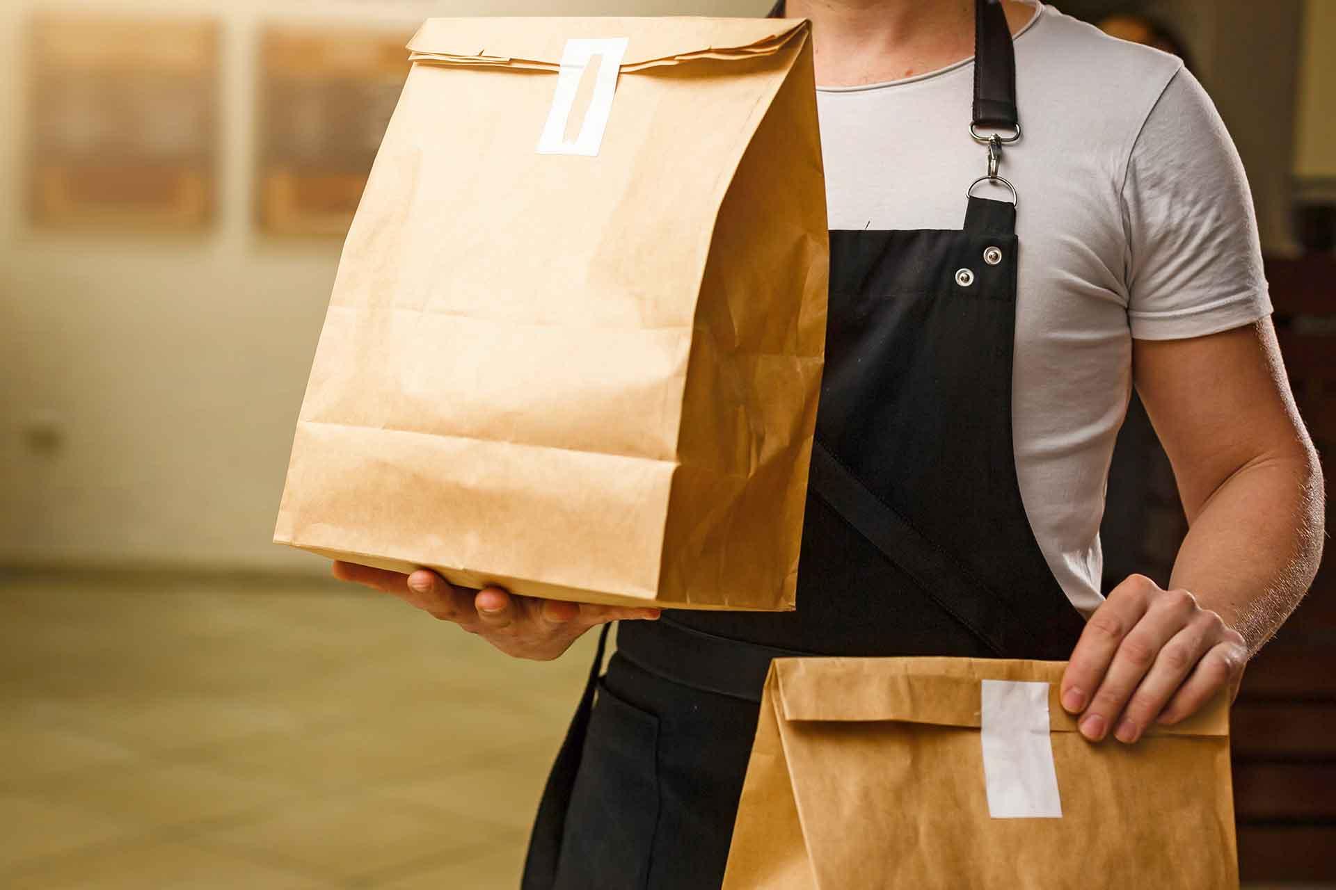 Aplicaciones de entrega de comida