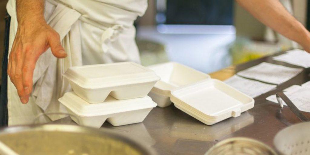 Empaque ideal para la entrega de comida